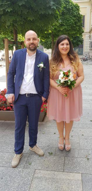 Omaggio a voi sposi italiani: i matrimoni di giugno 2020 11