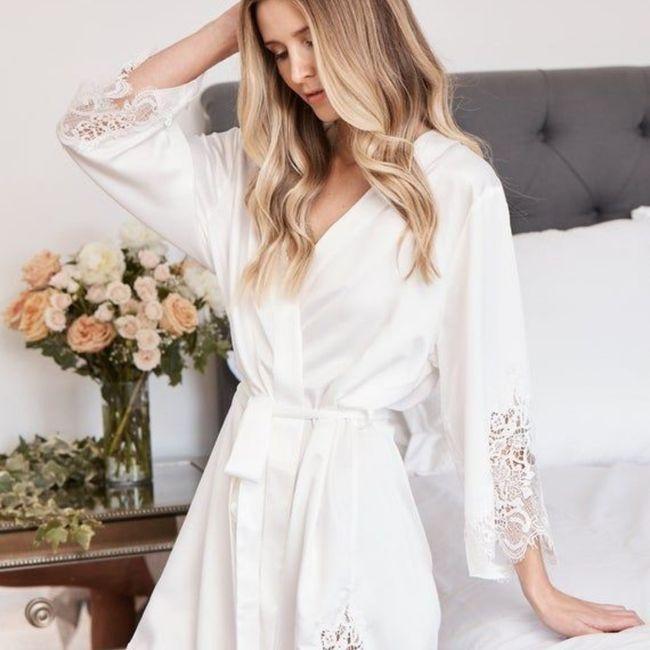 Alla ricerca della vestaglia da sposa... Lunga o corta? - 2