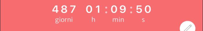 Scrivi solo quanti giorni segna il tuo countdown! - 1