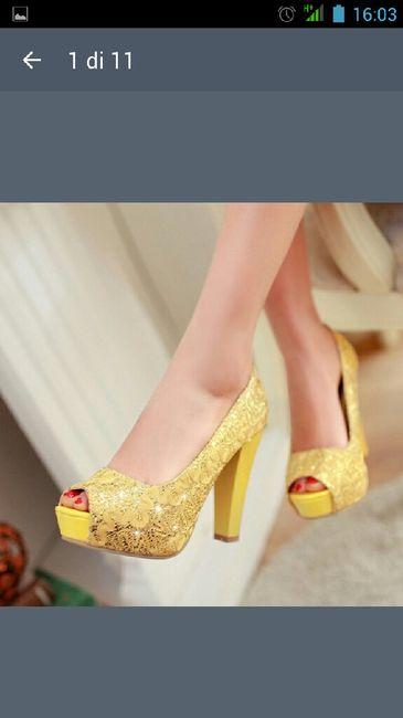 Scarpe colorate per la sposa..chi di voi le metterà? - 1