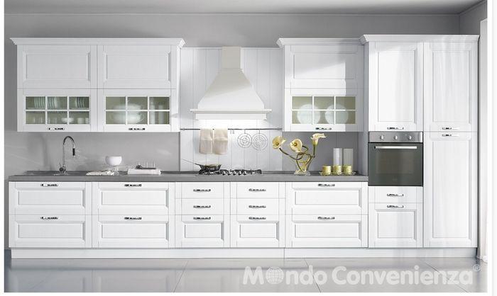 cucina mondo convenienza prezzo senza elettrodomestici ... - Cucine Su Misura Mondo Convenienza