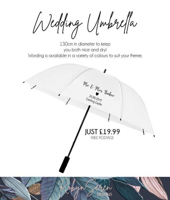 """""""You can stand under my umbrella"""" ovvero pioggia e ombrelli 3"""