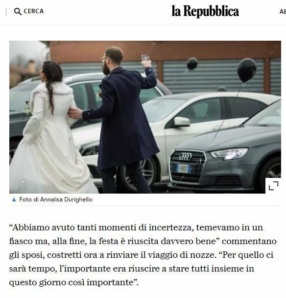 Prima festa di matrimonio drive-in ai tempi del covid anche in Italia, con 130 invitati 4