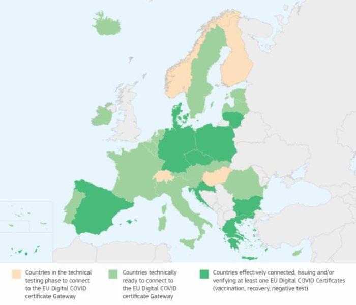 Green pass Europeo è stato approvato, più facile viaggiare in Ue! 3