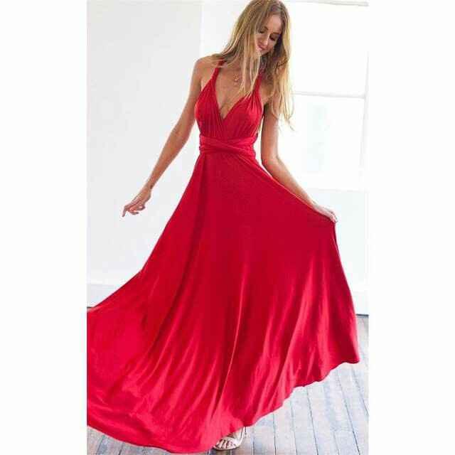Vestito damigelle: ladies in red! - 1
