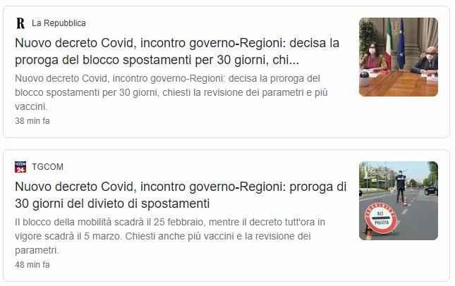 Regioni chiuse per altri 30 giorni lo annuncia la ministra Gelmini (affari regionali) - 1