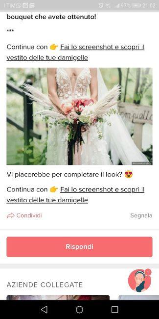 Fai lo screenshot e scopri il tuo bouquet 20