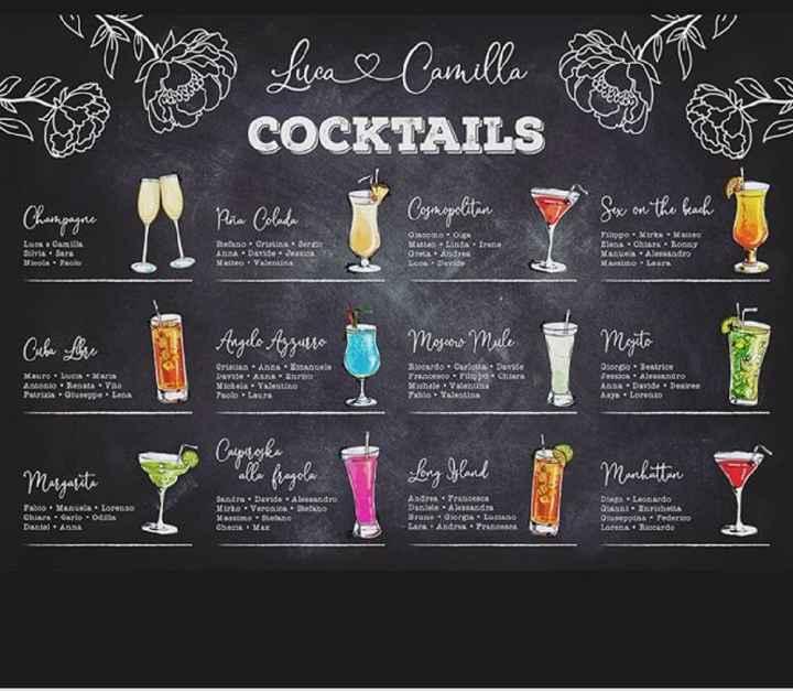 Matrimonio tema cocktail - 1