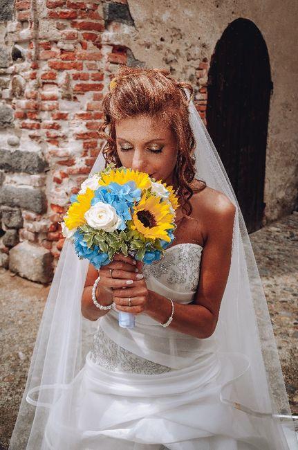 Bouquet con girasoli 9