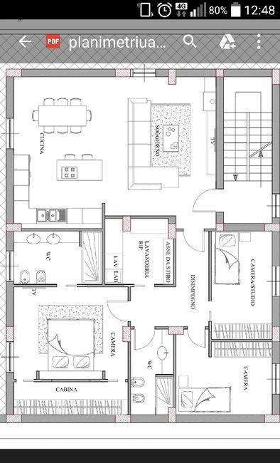 Planimetria casa 50 mq amazing progetto casa dwg with - Planimetria casa 120 mq ...