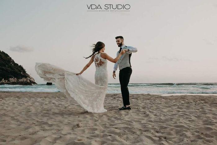 Chi di voi ha fatto le foto dopo la cerimonia sulla spiaggia con sabbia? - 1