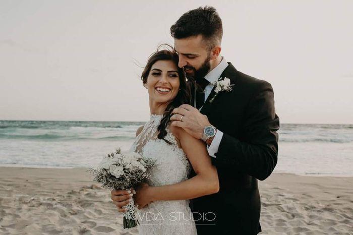 Chi di voi ha fatto le foto dopo la cerimonia sulla spiaggia con sabbia? - 4
