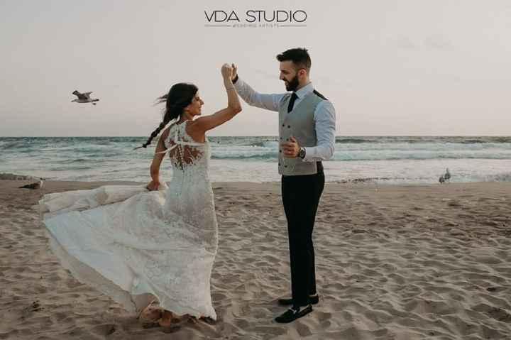 Chi di voi ha fatto le foto dopo la cerimonia sulla spiaggia con sabbia? - 2