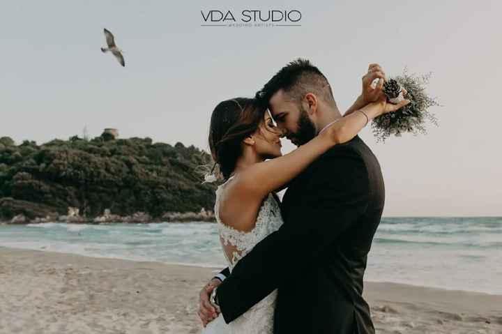 Chi di voi ha fatto le foto dopo la cerimonia sulla spiaggia con sabbia? - 5