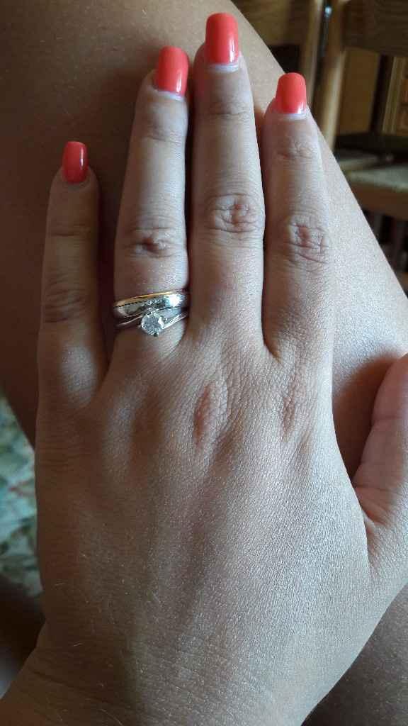 Anello di fidanzamento e fede insieme mi fate vedere i vostri? - 1