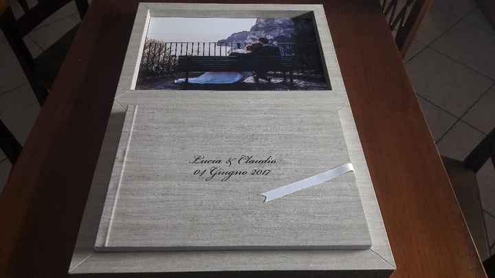 Arrivato l'album di nozze 💟 - 2