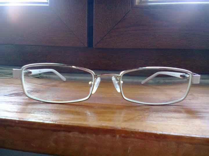I miei occhiali da sposa