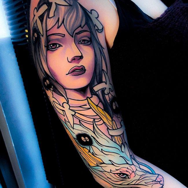 spose tatuate 😍🌺 2
