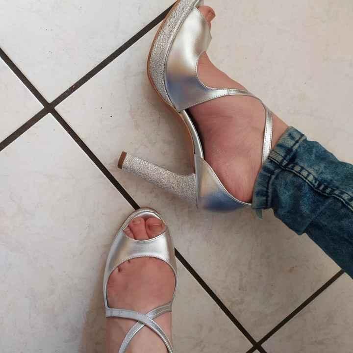Colore scarpe da sposa - 1