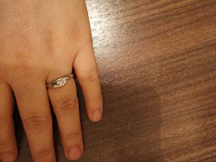 Foto anello proposta 😍💍💕🙈 - 2