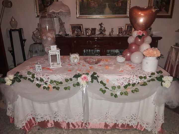 Tavolo sposa - 1