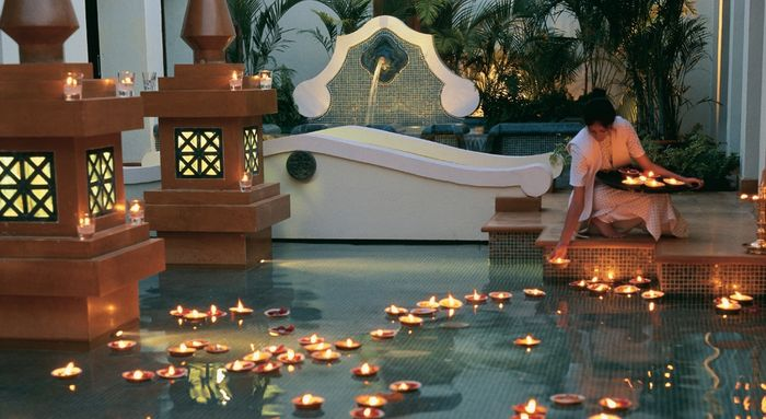 Addobbo piscina locale organizzazione matrimonio forum for Addobbi piscina