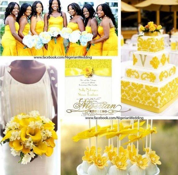 Matrimonio In Giallo E Bianco : Colore matrimonio qualcuno ha scelto il bianco e giallo