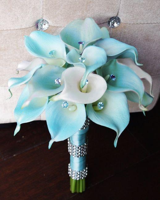 Famoso Bouquet - colore: tiffany  proposte?!?!? - Moda nozze - Forum  GQ48