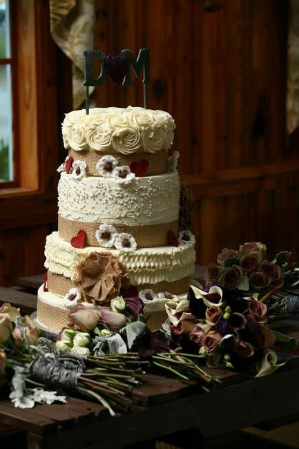 Torte Matrimonio Country Chic : Wedding cake in base allo stile country ricevimento di