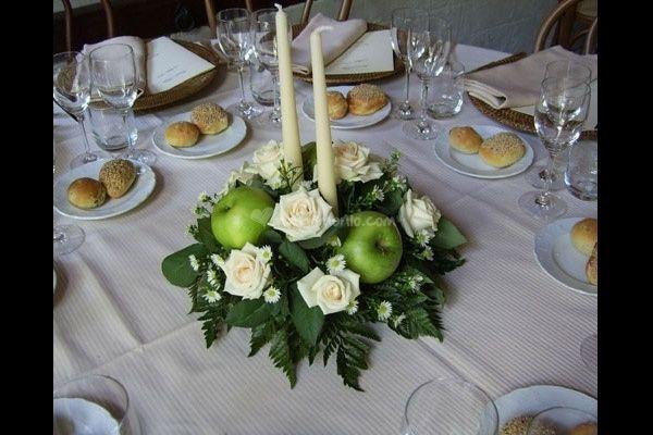Tavola imbandita e la tua come sara 39 ricevimento di for Addobbi tavoli matrimonio con candele