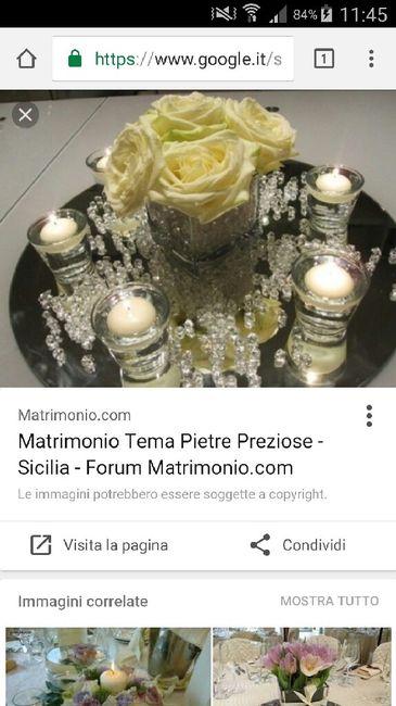 Matrimonio Tema Pietre Preziose : Pietre preziose e piatti specchiati organizzazione