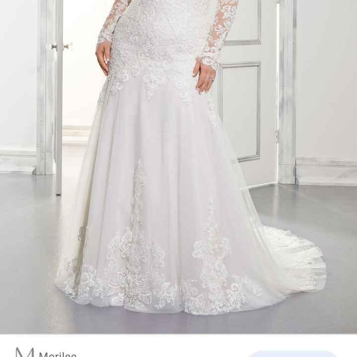 Il mio abito da sposa è di... - 1