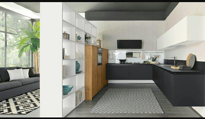 Divisore tra parete attrezzata e cucina - Vivere insieme - Forum ...