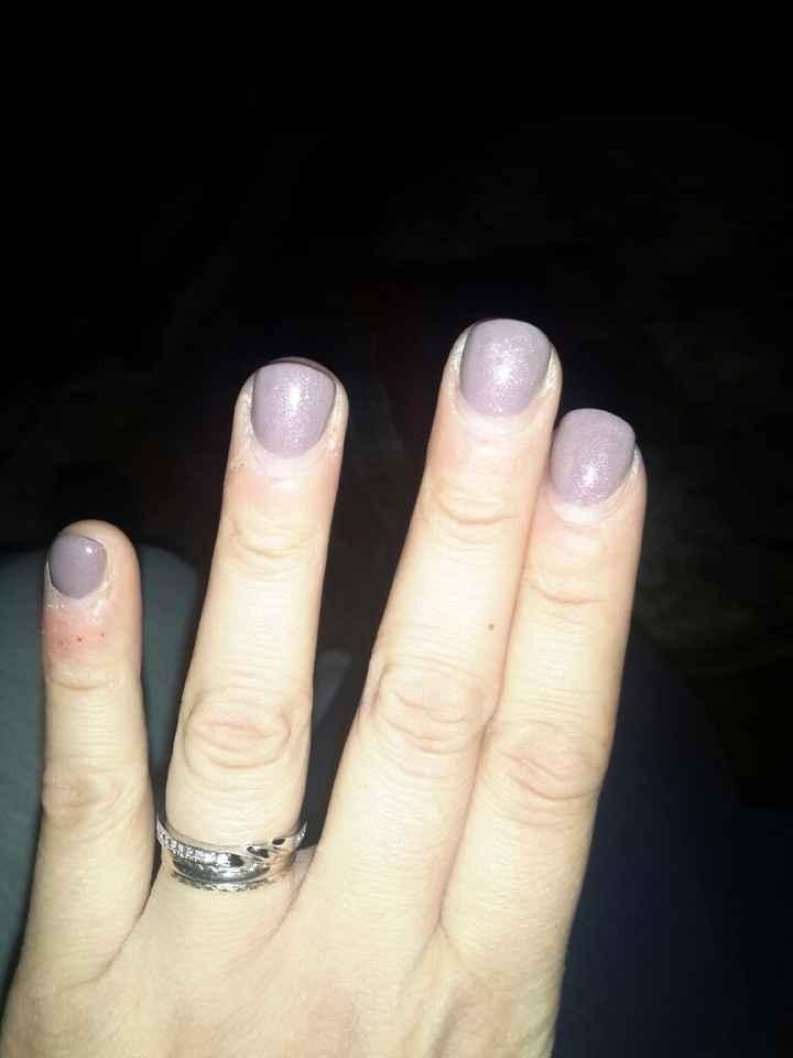 Mi fate vedere le vostre unghie - 1