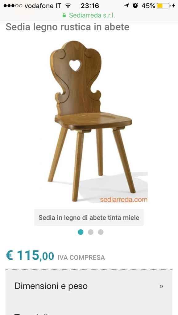 Come sono queste sedie ? - 1