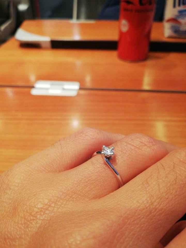 I vostri anelli di fidanzamento: vogliamo vederli! - 1