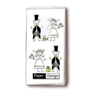 Fazzoletti sposi per wedding bags - 1