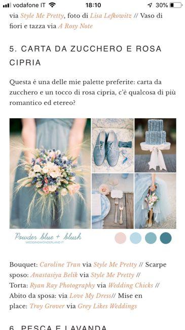 Palette colori matrimonio spiegata alla fiera degli sposi! 9