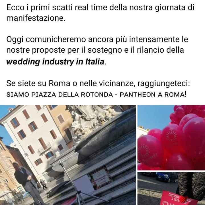 Manifestazione wedding a Roma - 1