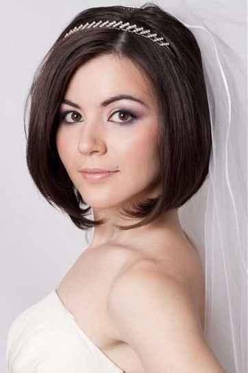 Sposa capelli corti - 1