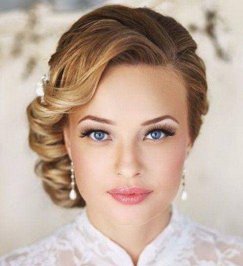 capelli sposa medi