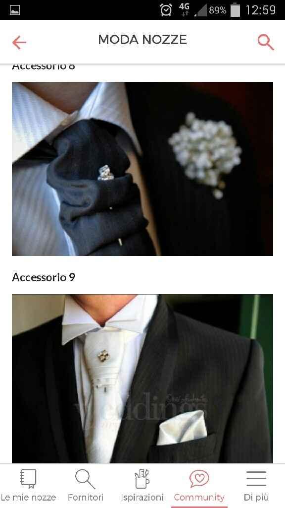 Quale cravatta preferite per il look sposo? - 1