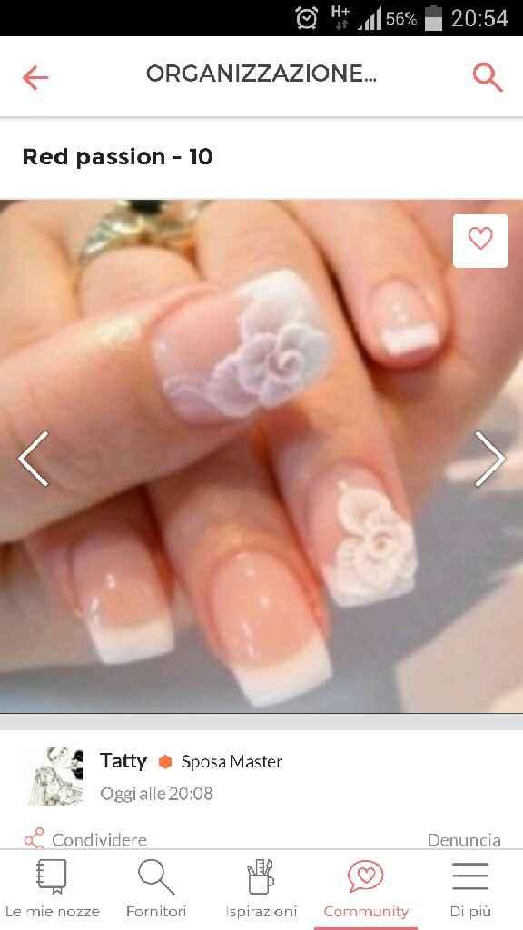 Nail art sposa - 1