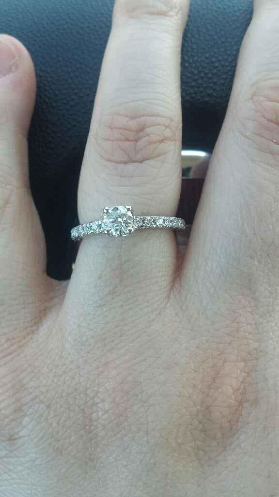 Anello di fidanzamento arrivato anche per me! - 1