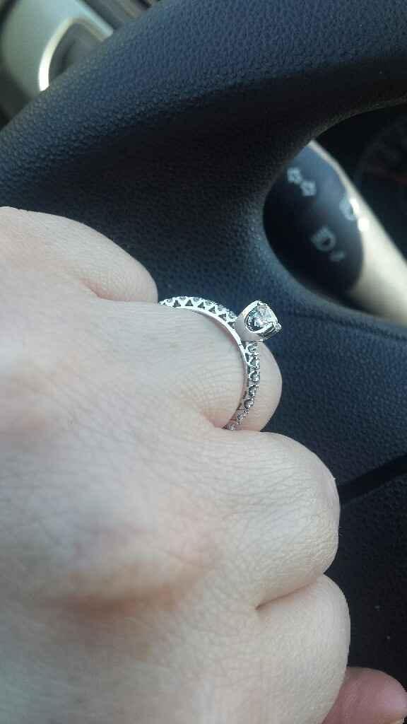 Anello di fidanzamento arrivato anche per me! - 2