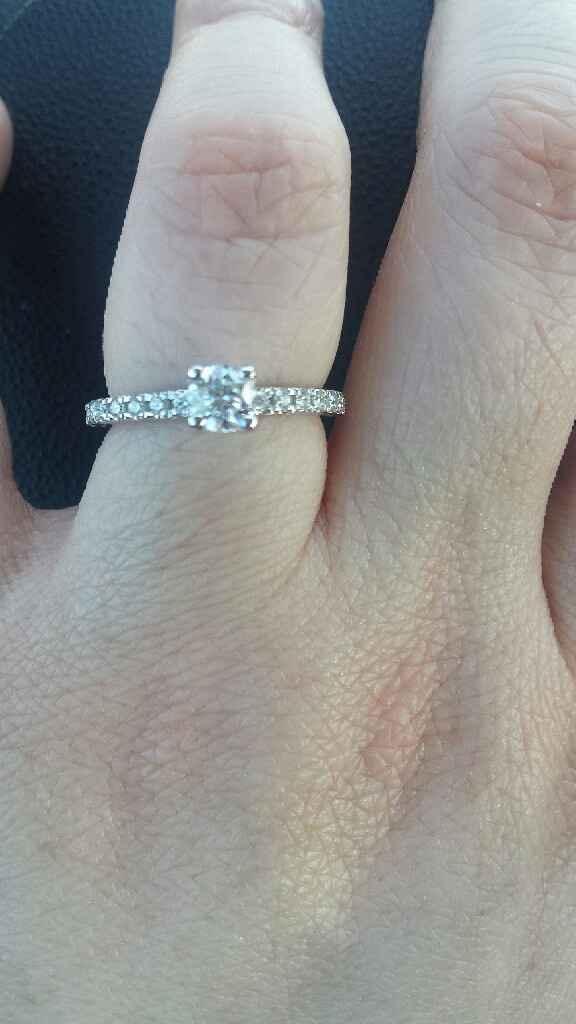 Anello di fidanzamento arrivato anche per me! - 3