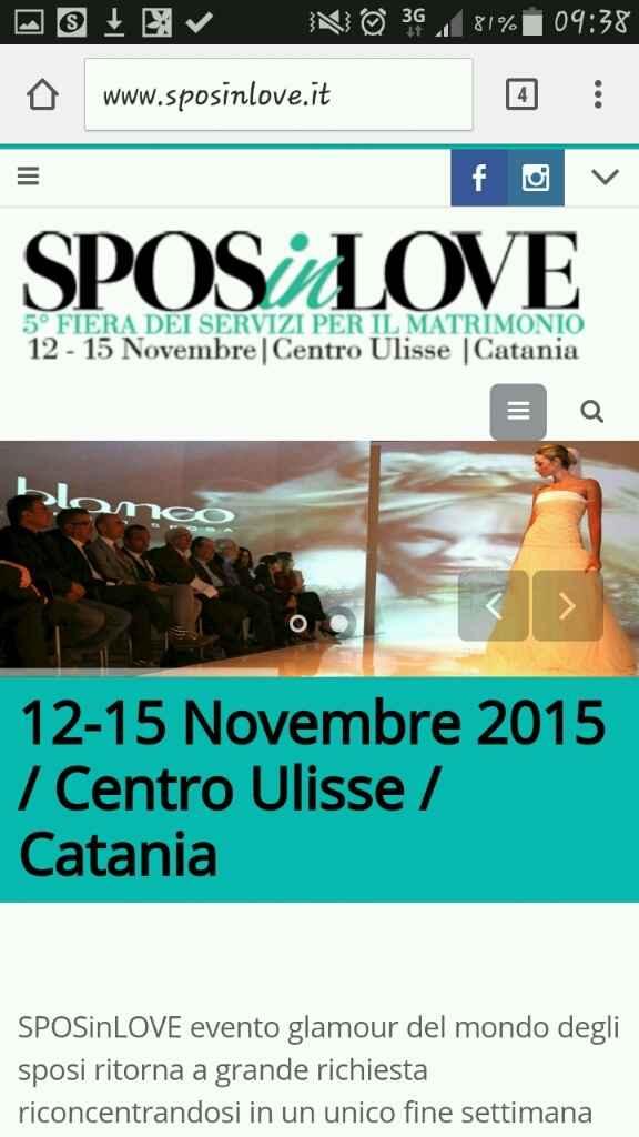 Fiere sposi a Catania e dintorni - 1