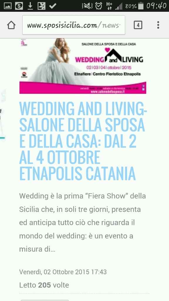 Fiere sposi a Catania e dintorni - 2
