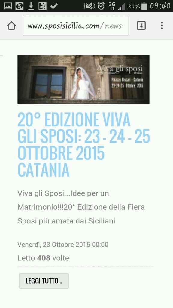 Fiere sposi a Catania e dintorni - 3