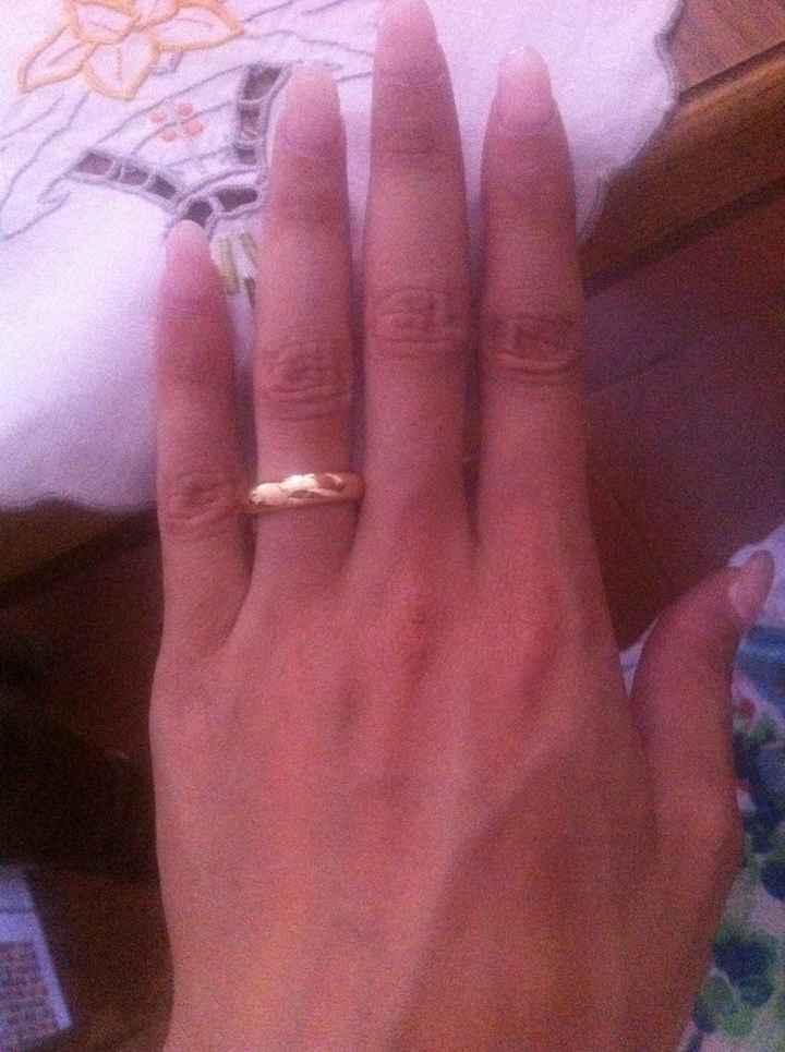 Abbinamento fede +anello fidanzamento postate le vostre foto!!!! - 1